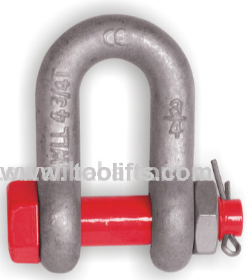 Us Type High Tensile Forged Shackle G2150 S2150