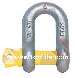 Grade S Dee Shackle With Screw Pins As2741