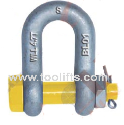 Grade S Dee Shackle With Safety Pins As2741