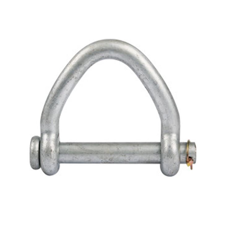 Web sling shackle