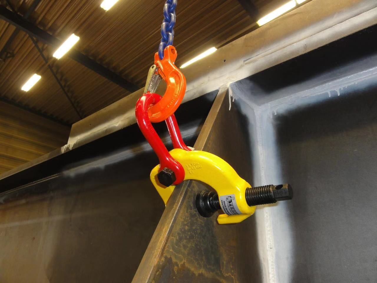 Special lifting clamps