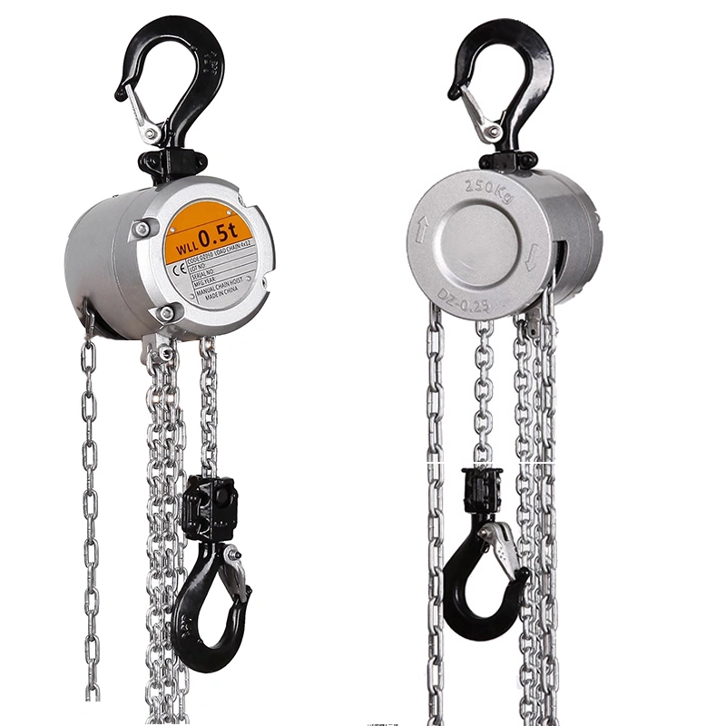Aluminum Alloy Chain Hoist, Mini Chain Block